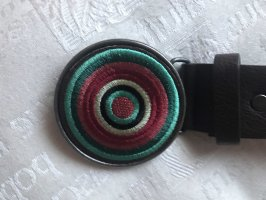 Desigual Cintura in ecopelle multicolore