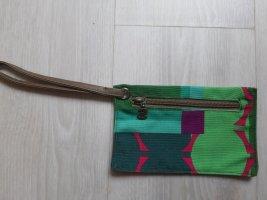 Desigual Estuche para llaves violeta-verde