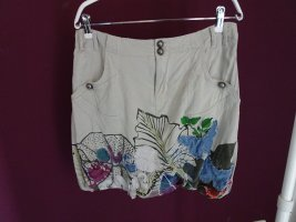 Desigual Balloon Skirt light grey