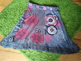 Desigual Cargorok grijs-roze