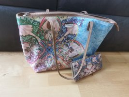 Desigual Shopper & Portemonnaie Mexican Cards