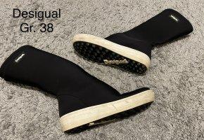 Desigual Bottes stretch noir
