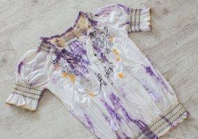 Desigual Batik Shirt purple