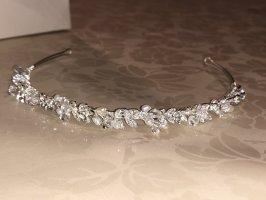 Bijoux pour la tête argenté-blanc