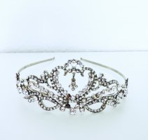 Headdress silver-colored-white
