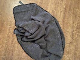 Zara Bufanda de lana negro-gris