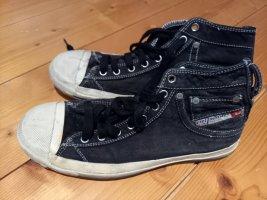 Diesel Industry Sneaker stringata nero Tessuto misto