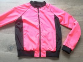 Diesel Reversible Jacket black-neon pink