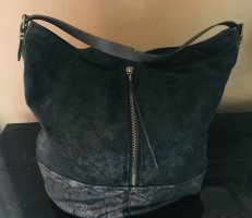 Diesel Pouch Bag black leather