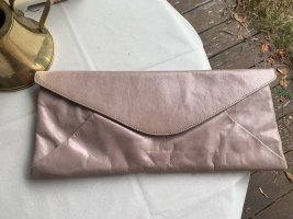 Diesel Black Gold Clutch rose-gold-coloured-pink leather