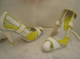 Diesel´´Coole Witzige Sexy Cut Out Sandaletten Lackleder Creme NP 230 € Top