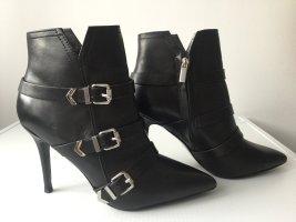 DIESEL Damen Leather D-ARINE Buckle Boots Stiefeletten Gr.39