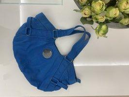 Diesel Handtasche Tasche blau Silber vintage Blogger