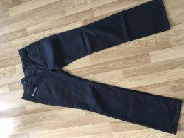 Diesel Industry Jeans vita bassa blu scuro