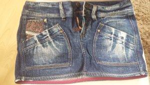 Diesel Jeansowa spódnica ciemnoniebieski