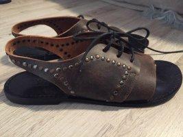 Diesel Leder Sandalen wie neu