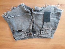 Diesel Pantaloncino di jeans grigio