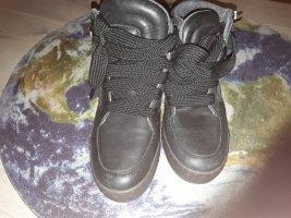 Diesel wedge Sneaker, Schwarz,  gr.38
