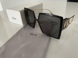 Dior Angular Shaped Sunglasses black