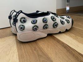 Christian Dior Slip-on Sneakers white