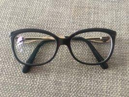 Dior Glasses black-gold-colored
