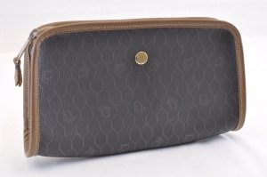 Dior Honeycomb Canvas Pouch
