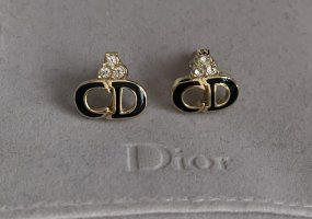 Dior Gold Earring black-gold-colored
