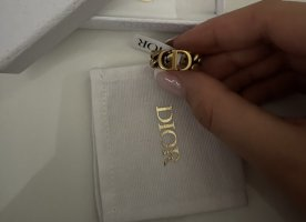 Dior Statement Ring gold-colored