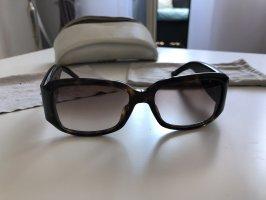 Christian Dior Round Sunglasses light brown