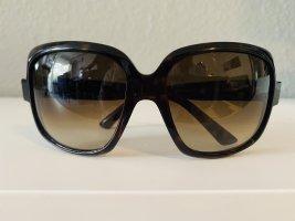 Christian Dior Occhiale stile retro marrone-nero