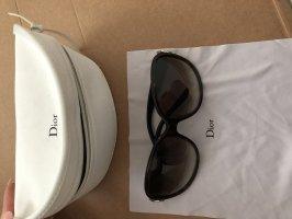 Dior Oval Sunglasses black brown