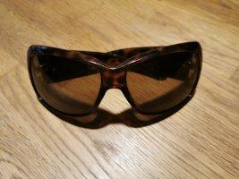 Dior Occhiale da sole rotondo marrone-nero-marrone