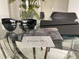 Christian Dior Angular Shaped Sunglasses black