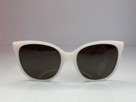 Dior Okulary motylki w kolorze białej wełny-w kolorze różowego złota