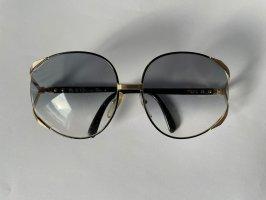 Christian Dior Bril zwart-goud