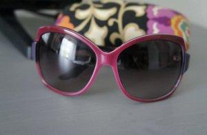 Dior Lunettes de soleil rondes violet-violet