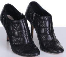 Dior Stiefelette Stiefel 40,5 schwarz Leder