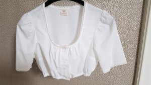 H.Moser Folkloristische blouse wit