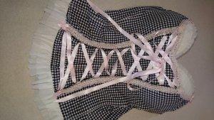 Censored Set lingerie nero-rosa pallido