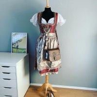 Bayer-Moden München Sukienka z gorsetem Wielokolorowy