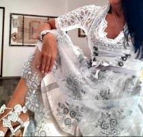 MarJo Dirndl silver-colored