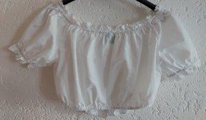 Alpenzauber Folkloristische blouse wit