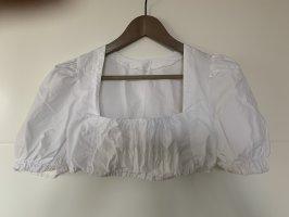 Angermaier Folkloristische blouse wit