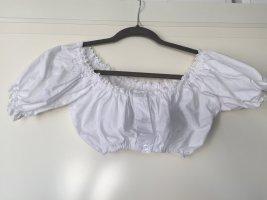 Almenrausch Vestido tradicional blanco Algodón