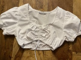 Stockerpoint Blusa folclórica blanco