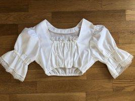 Thalbauer Trachten Blouse bavaroise blanc coton