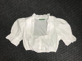 Country Line Traditional Blouse white polyester
