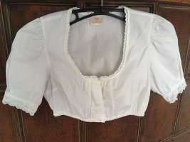 H.Moser Traditional Blouse white