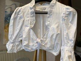 Dirndl.com Short Sleeved Blouse white