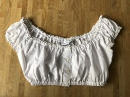 Ludwig und Therese Folkloristische blouse wit